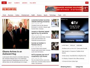 قالب Newswire 1.2