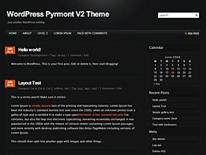 قالب pyrmont v2