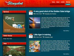 قالب The Slingshot 1.0