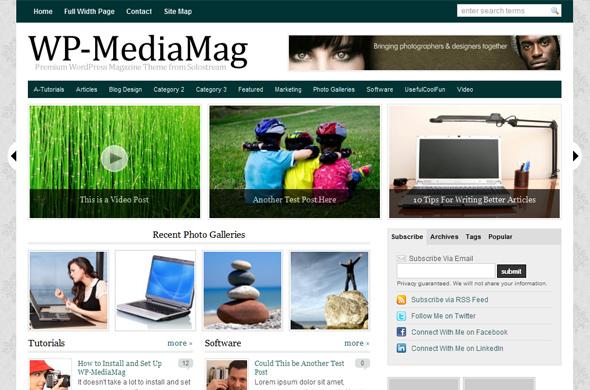 قالب WP-MediaMag