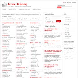 تعريب قالب Articlee Directory