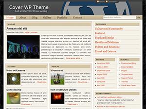 تعريب قالب Cover WP للمدونات والمجلات